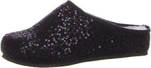 ARA Damen Cosy 1529957 Pantoffeln, Schwarz (Schwarz 01), 37 EU