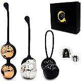 Zen Q Ben Wa Balls for Women Six Premium Kegel Balls for Tightening Doctor...