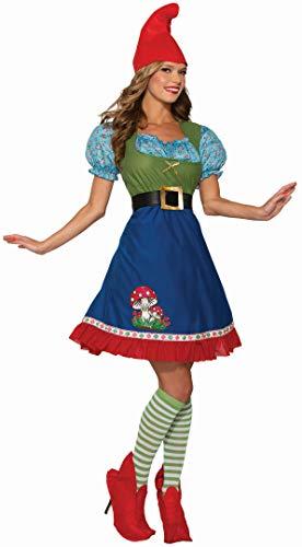 Forum Novelties Women's Flora The Garden Gnome Costume, As Shown, Small
