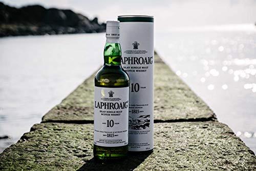 Laphroaig Scotch Whisky al Malto Puro 10 Anni, 70cl