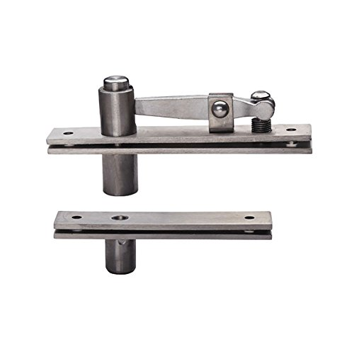 TamBee Door Pivot Hinges Heavy Duty Hinges for Wood Doors 360 Degree Shaft Stainless Steel Murphy Door Pivot Hinge System