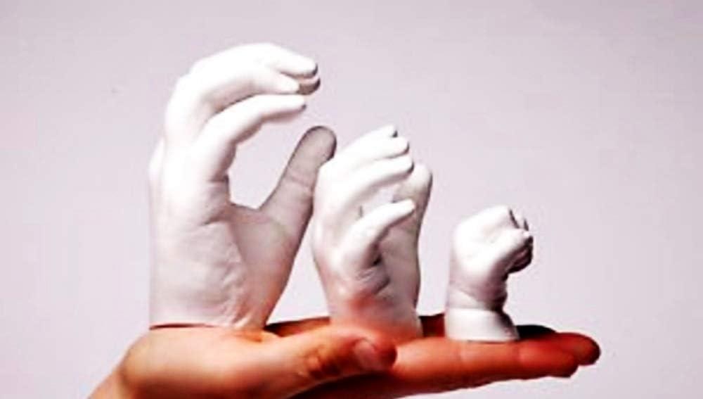 Cuerpo cantidad de su elecci/ón Idea de Regalo de cumplea/ños Manos Brazos pies 2 kg yesos no t/óxico Lovelegis Alginato para moldes