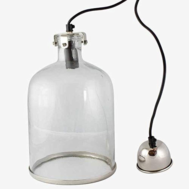 Better & Best Deckenleuchte, rund, mit silberfarbenem Ring, Mae 19 x 19 x 30 cm, Material  Glas Metall