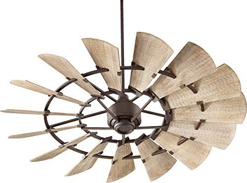Quorum International Windmill 60' Ceiling Fan - Oiled Bronze - 96015-86