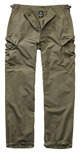 Brandit BDU Ripstop Trouser Cargohose, Oliv, Größe XL