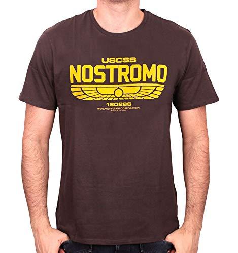 Cotton Division T-shirt Alien – Nostromo Logo
