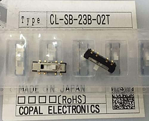 20PCS LOT Copal cobio High quality CL-SB-23B-02T Toggle Switch Patch Large discharge sale 3
