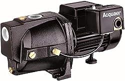 top 10 shallow well jet pump Acquaer SJC100-1 1 Power shallow hole jet pump with shallow holes for boreholes up to 25 feet.