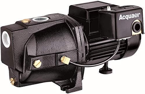 Acquaer SJC100-1 1 HP Cast Iron Shallow Well Jet Pump