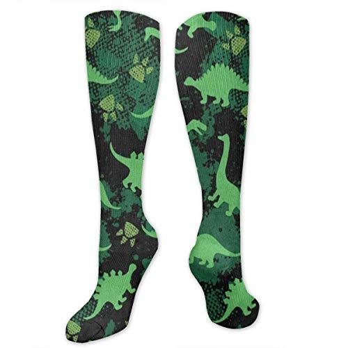 NA Stretch Socken Aquarell Footprint Dinosaurier Fantastische Winterwärme für Frauen und Männer Flug