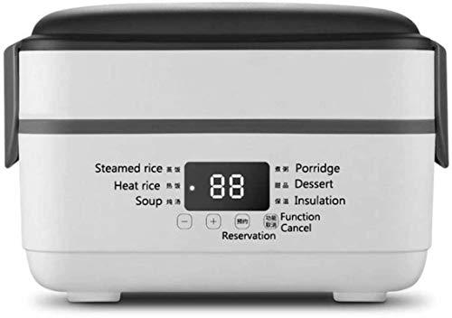 Ligero Multifuncional Caja de arroz eléctrica Caja de almuerzo Liner de alta calidad Aislador portátil Steamer Heat for Home Kitchen Office