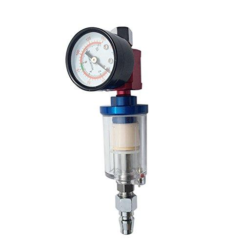 AFR2000 Luchtdrukregelaar Water Separator Trap Filter Airbrush Compressor met FittingsMPA drukmeter Combinatie Thuis Tuin DIY & Gereedschap