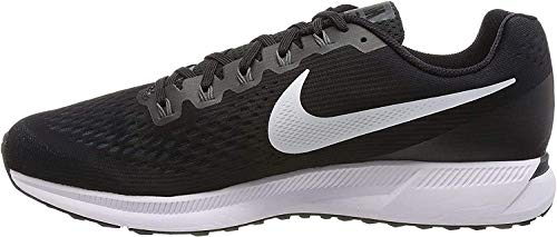 Nike Men's Air Zoom Pegasus 34 Running Shoes (14, Black-M)
