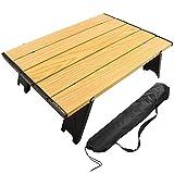 アウトドアテーブル ミニローテーブル キャンプ テーブル 折畳テーブルアルミ製 超軽量 コンパクトソロキャンプ BBQ 登山 ツーリング お釣り おしゃれ 防災用品
