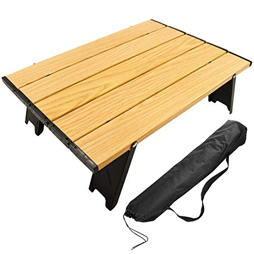 CARBABY アウトドアテーブル(木目)の商品画像