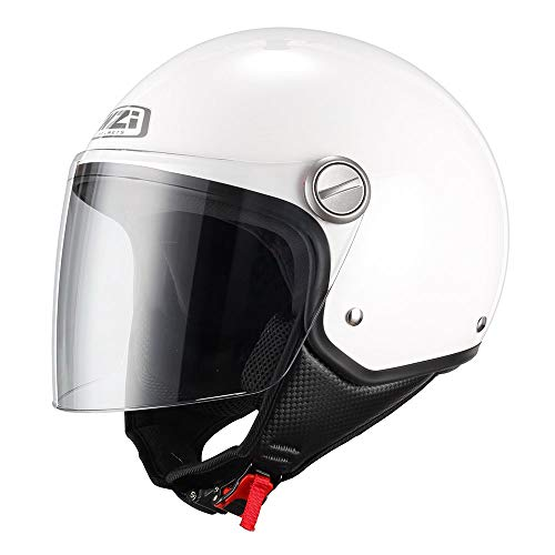 NZI 150263G001 Capital Visor Casco de Moto, Color Blanco, Talla S(55-56)
