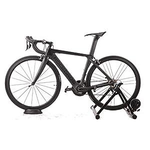 ROCKBROS Soporte para Rueda Delantera para Rodillo de Bicicleta Antideslizante Negro Ciclismo Interior
