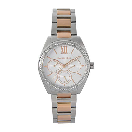 Michael Kors Janelle -Chronograph with Two Tones Stainless Steel Strap for...