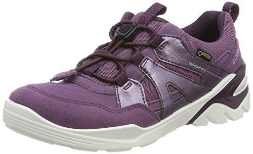ECCO Mädchen Biom Vojage Sneaker, Violett (Grapegrape), 32 EU