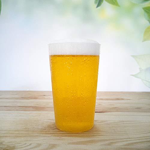 30x Trinkbecher 500ml | transparent bruchsicher | Mehrweg Bierbecher aus PP Hartplastik | alt. zu Einweg | Made In Germany | silverkitchen ®