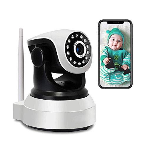Moniteur De Bébé, WiFi Wireless IP Caméra SURVEILLANCE HD SURVEILLANCE PTZ Caméra Caméra CCTV Intérieure, Caméra De Sécurité Avec Vision Nocturne, Audio à 2 Voies, Contrôle De L appl(Size:Caméra WiFi)