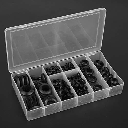 Arandela de sello de goma Kit de junta tórica de goma universal Kit de arandela de goma para uso doméstico con caja de almacenamiento