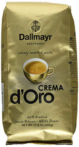 Dallmayr Kaffee Crema d'Oro 500g Kaffeebohnen (1 x 500 g)