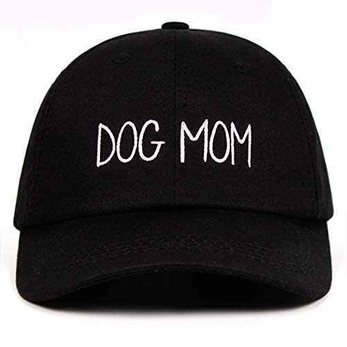 QiuFeng Gorras Gorras de Hombre Sombrero Bordado de mamá para Perros Gorra de béisbol Personalizada para el día de la Madre Gorra de béisbol para Embarazadas Sombrero Curvo de Moda Gorra Beisbol
