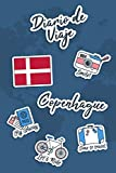 Diario de Viaje Copenhague: Diario de Viaje | 106 páginas, 15.24 cm x 22.86 cm | Para acompañarle durante su estancia.