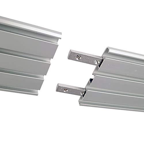 Bestlivings - Connettore per binari per tende in alluminio
