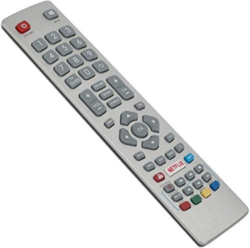 121AV SHW/RMC/0120 SHWRMC0120 Fernbedienung ersetzt Sharp Aquos HD Smart TV mit Youtube Netflix NET+