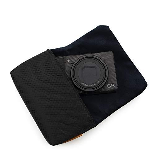 kinokoo Kameratasche kompatibel für Sony RX100 Serie, Ricoh GR Serie, Canon G7X II/G9X II/SX740 HS Ultralight Kameratasche mit Magnetverschluss