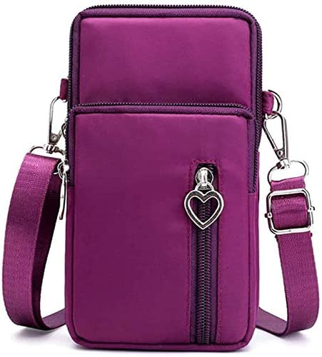 Cellphone Purse Wallet Cross Over Body Bag Shoulder Pouch Wristlet Armband for Samsung A20 A21 product image