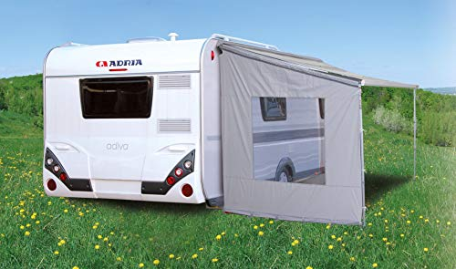 Eurotrail Pared lateral universal para techo corredizo de caravana cassette Canopy sin ventana