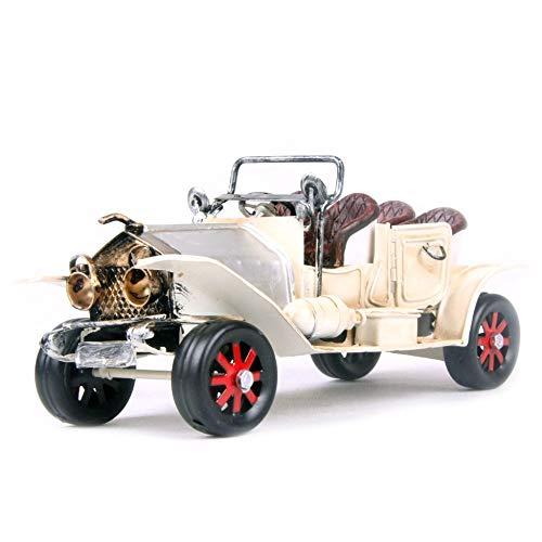 JJLESUN3 Ermakova Metall Automobile Modell Gran Torino Vintage Klassische Offene Auto Modell Retro Fahrzeugmodell Prop Boy Geschenk Home Office Decor