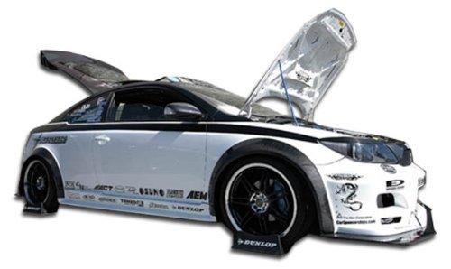 Brightt Duraflex ED-CAT-024 Touring Wide Body Side Skirts Rocker Panels - 2 Piece Body Kit - Compatible With TC 2005-2010