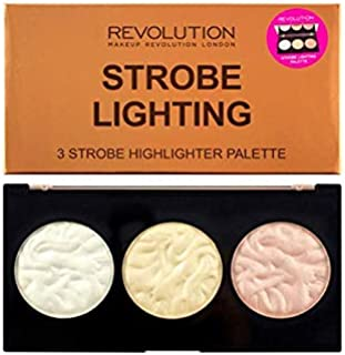 Makeup Revolution Strobe Lighting Highlighter Palette Paleta rozświetlaczy do twarzy 15g