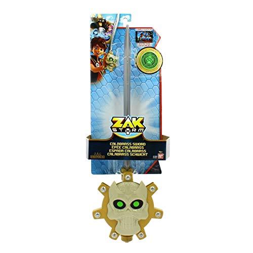 BANDAI Espada Calabrás con Moneda de Zak Storm 41600
