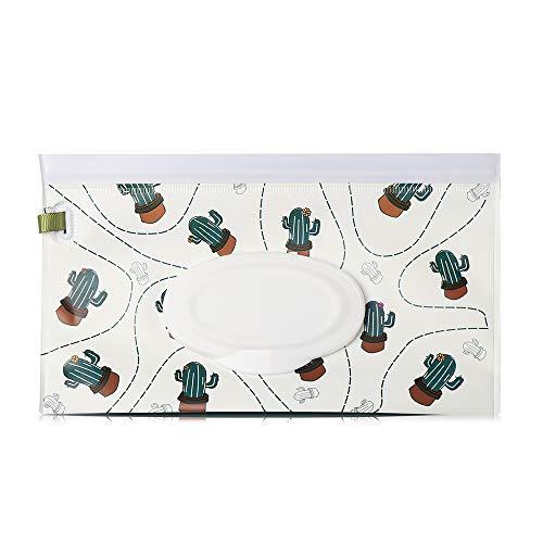 1pcs Moda Útil Bebé Producto Portátil Estuche De Transporte Flip Cover Cochecito Accesorios Cosméticos Caja De Pañuelos Toallitas Mojadas Bolsa (1)