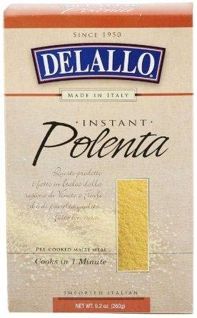 Delallo Instant Polenta (9.2 oz Boxes) 2 Pack