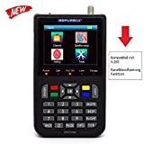 KKmoon - Localizador de satélite digital con pantalla LCD de 3,5 pulgadas