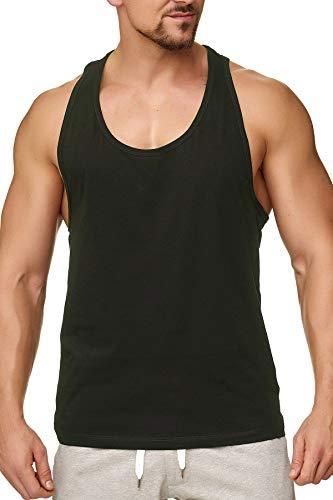 Happy Clothing Herren Tank Top Sport Fair-Trade, 100{fa1b371f3eab2c9671c975224601cda175d083e7bdf05b0106d25ce0003d65f2} Baumwolle, Größe:XL, Farbe:Anthrazit