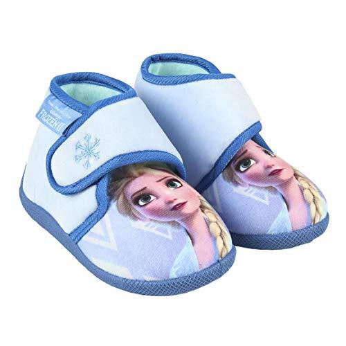 CERDÁ LIFE'S LITTLE MOMENTS 2300004569_T025-C05, Zapatillas Casa Frozen Niña-Licencia Oficial Disney Niñas, Azul, 25 EU