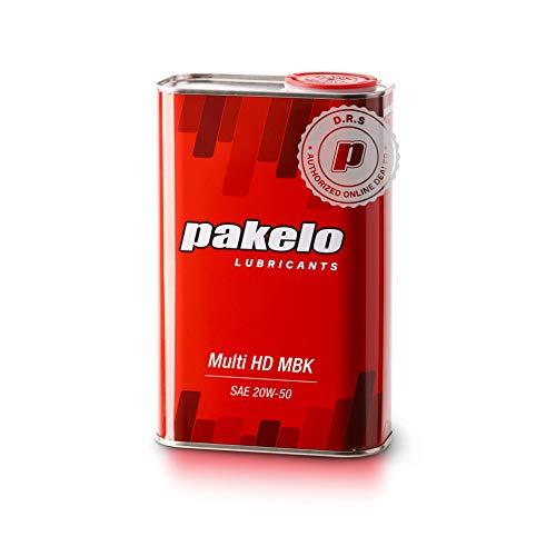 Pakelo - Aceite Pakelo Multi HD MBK 20W50, 1 litro