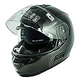 NOS Helmets NS07C0LACA - Casco de Moto Integral de Fibra de Carbono HCComposite. Homologado ECE22-05