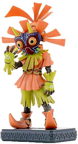 UanPlee-SC Geschenk Legende von Zelda Skull Kid Link Majoras Maske Figur Spielzeug Modell