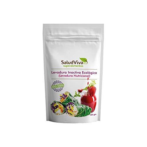 Salud Viva Levadura Nutricional Inactiva Ecológica 125 g