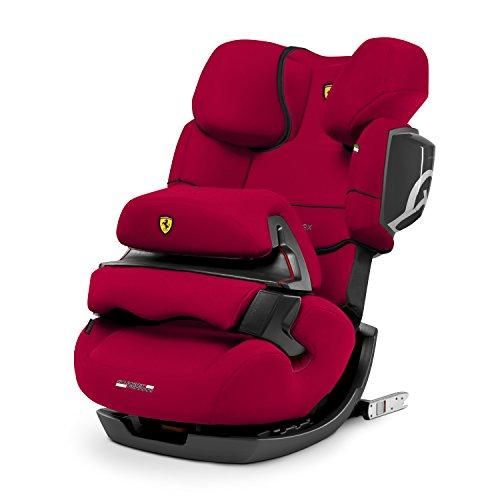 CYBEX Silver Siège Auto Évolutif Pallas 2-Fix Scuderia Ferrari, Adapté aux Voitures Avec ou Sans ISOFIX, Groupes 1/2/3 (9-36 kg), De 9 Mois à 12 Ans Environ, Racing Red