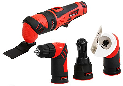 MyWork Professional Tools, Multiutensile 4-in-1, batteria al litio 12 V, 12MMW-S