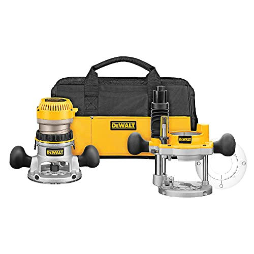 DEWALT Router, Fixed Base, Variable Speed, 2-1/4 HP (DW618)